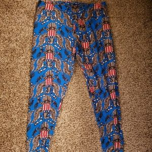 Lularoe Americana Leggings TC
